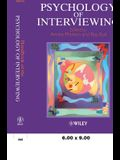Handbook of the Psychology of Interviewing