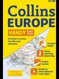 2010 Collins Europe Handy Road Atlas