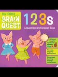 My First Brain Quest 123s: A Question-And Answer Counting Book
