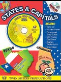 States & Capitals [With CD (Audio)]