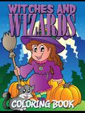 Witches and Wizards Coloring Book