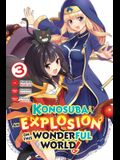 Konosuba: An Explosion on This Wonderful World!, Vol. 3 (Manga)