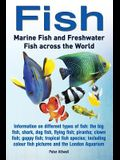 Fish: Marine Fish and Freshwater Fish Across the World: Information on Different Types of Fish: The Big Fish, Shark, Dog Fis