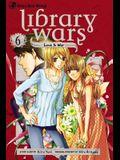 Library Wars: Love & War, Volume 6