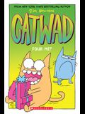Four Me? (Catwad #4), Volume 4