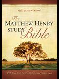 Matthew Henry Study Bible Black Bonded