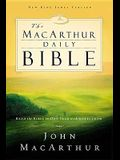 MacArthur Daily Bible-NKJV: Read Through the Bible in One Year, with Notes from John MacArthur