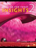 Reading for Today 2: Insights