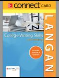 Connect Access Card for Langan's College Writing Skills with Readings