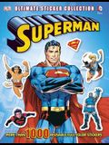 Superman: Ultimate Sticker Collection [With Sticker(s)]