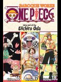 One Piece: Baroque Works, Volumes 16-18