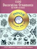 1500 Decorative Ornaments CD-ROM and Book [With CDROM]