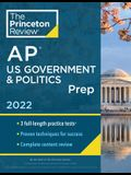 Princeton Review AP U.S. Government & Politics Prep, 2022: Practice Tests + Complete Content Review + Strategies & Techniques