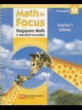 Math in Focus: Singapore Math, Kindergarten B