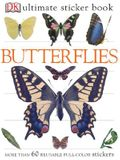 Ultimate Sticker Book: Butterflies: More Than 60 Reusable Full-Color Stickers [With Stickers]