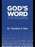 God's Word in its Fullness