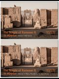 The Temple of Ramesses II in Abydos (Volume 1 & 2 Set): Volume 1, Wall Scenes and Volume 2, Pillars, Miscellany, and Inscriptions