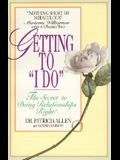 Getting to 'i Do'