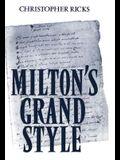 Milton's Grand Style
