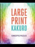 Large Print Kakuro