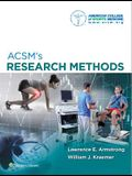 ACSM Research Methods and Exercise and Sport Sciences Reviews
