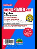 Regents Algebra I Power Pack: Let's Review Algebra I + Regents Exams and Answers: Algebra I