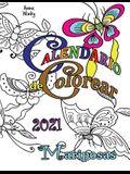 Calendario de Colorear 2021 Mariposas