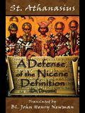 A Defense of the Nicene Definition: (De Decretis)