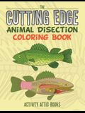 The Cutting Edge: Animal Disection Coloring Book