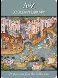 26 Postcards from the Collections: A Bodleian Library A to Z