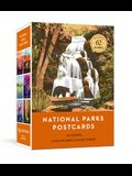 National Parks Postcards: 100 Illustrations That Celebrate America's Natural Wonders