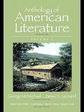 Anthology of American Literature, Volume I