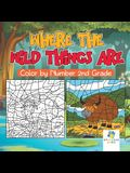 Where the Wild Things Are - Color by Number 2nd Grade