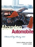 Abandon Automobile: Detroit City Poetry 2001