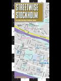 Streetwise Stockholm Map: Laminated City Center Map of Stockholm, Sweden