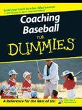 Coaching Baseball For Dummies