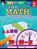 180 Days of Math for Second Grade (Grade 2): Practice, Assess, Diagnose [with Cdrom] [With CDROM]