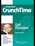Emanuel Crunchtime for Civil Procedure