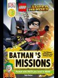 DK Readers L3: Lego(r) DC Comics Super Heroes: Batman's Missions: Can Batman and Robin Save Gotham City?