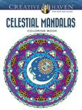 Creative Haven Celestial Mandalas Coloring Book (Adult Coloring)