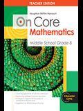 Houghton Mifflin Harcourt on Core Mathematics: Teacher's Guide Grade 8 2012