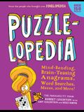 Puzzlelopedia: Mind-Bending, Brain-Teasing Word Games, Picture Puzzles, Mazes, and More! (Kids Puzzle Book, Activity Book, Fun Puzzle