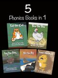 5 Phonics Books in 1: Short Vowel Sounds