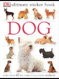 Ultimate Sticker Book: Dog: More Than 60 Reusable Full-Color Stickers [With More Than 60 Reusable Full-Color Stickers]
