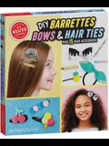 DIY Barrettes, Bows & Hair Ties