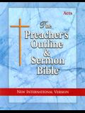 Preacher's Outline & Sermon Bible-NIV-Acts