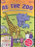 At the Zoo [With Stickers and 6 Crayons and Stencils and Puzzles and 2 Coloring Books]