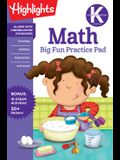 Kindergarten Math Big Fun Practice Pad