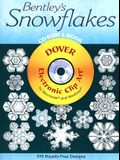 Bentley's Snowflakes CD-ROM and Book [With CDROM]