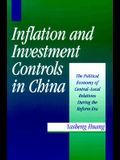 Inflation and Investment Controls in China: The Political Economy of Central-Local Relations During the Reform Era